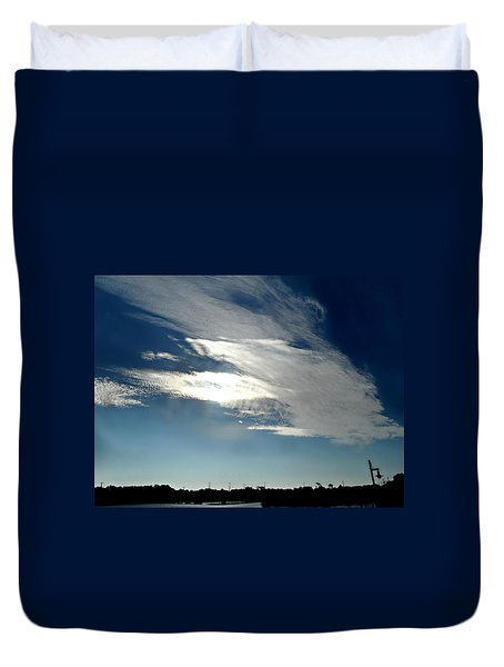 Collingwood's Clouds Duvet Cover