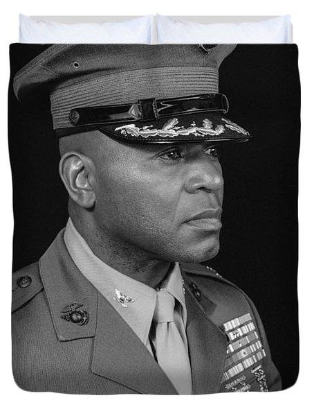 Colonel Al Trimble Duvet Cover