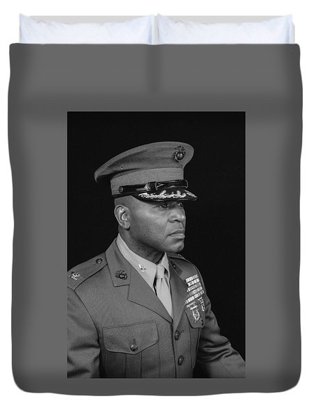 Colonel Al Trimble Duvet Cover