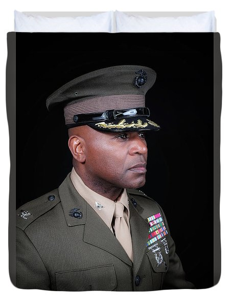 Colonel Trimble 1 Duvet Cover