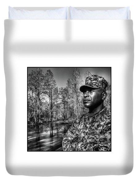 colonel Trimble 2 Duvet Cover