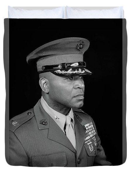 Colonel Trimble Duvet Cover