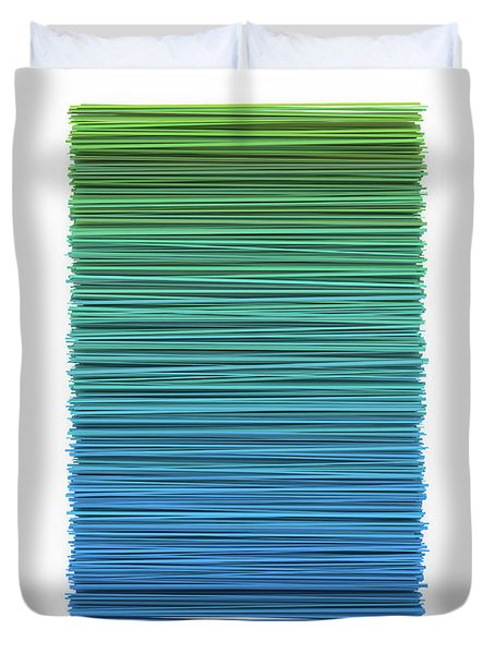 Color And Lines 5 Duvet Cover