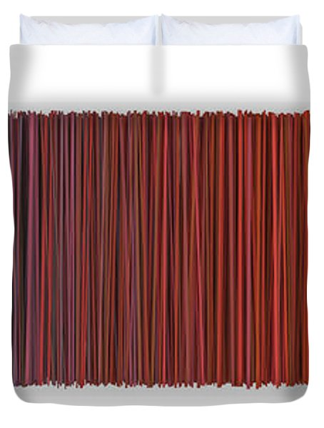 Color And Lines 6 Duvet Cover