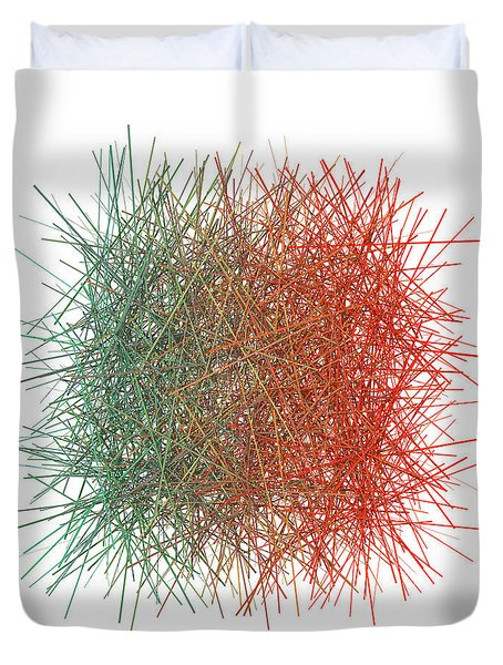 Color And Lines 9 Duvet Cover
