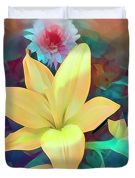 Color It Pretty Duvet Cover