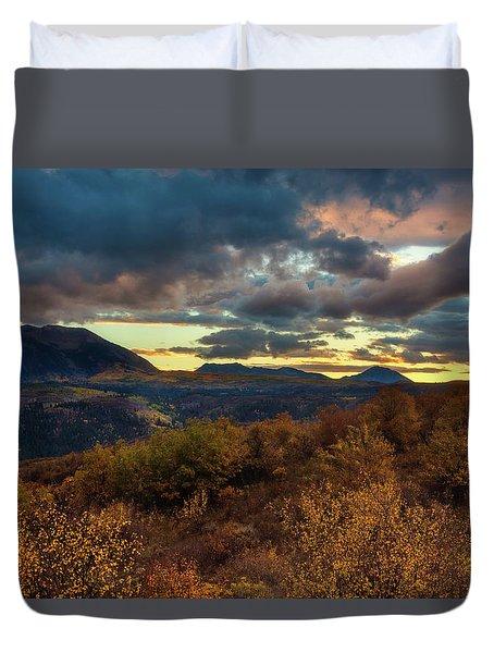 Colorado Cloudscape Duvet Cover