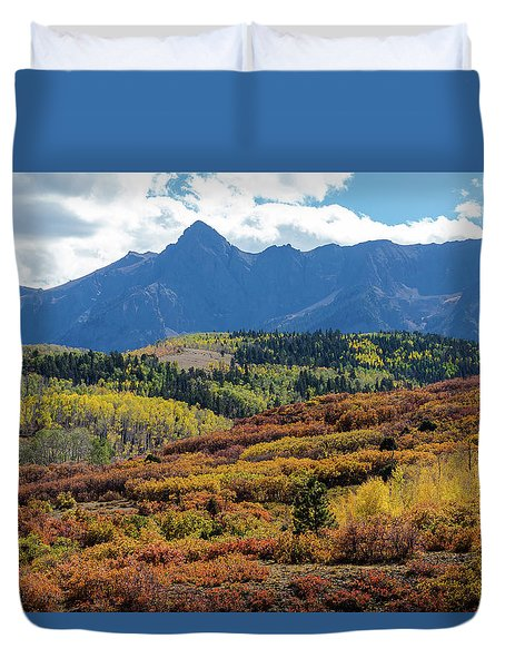 Duvet Cover featuring the photograph Colorado Color Bonanza by James BO Insogna