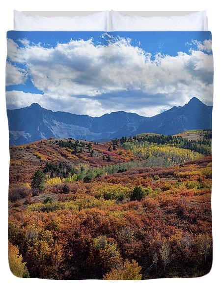 Colorado Color Lalapalooza Duvet Cover