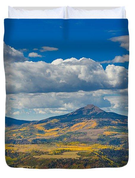 Colorado Fall Duvet Cover