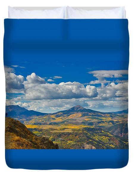 Colorado Fall Duvet Cover
