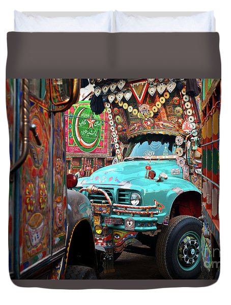 Truck Art Duvet Cover