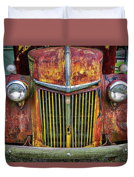 Colorful Ford Duvet Cover