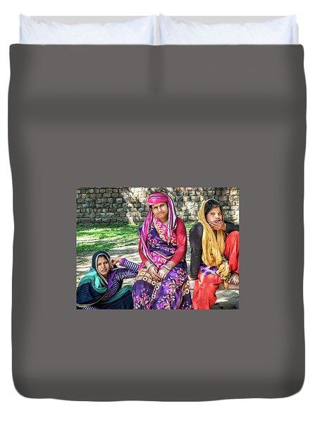 Colorful Ladies Duvet Cover