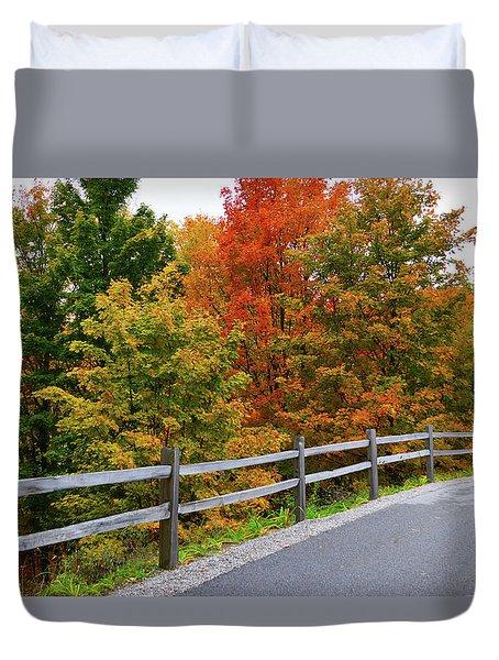 Colorful Lane Duvet Cover