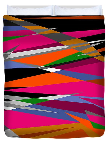 Colorful Reaction Duvet Cover