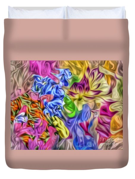 Colors From Nature Duvet Cover