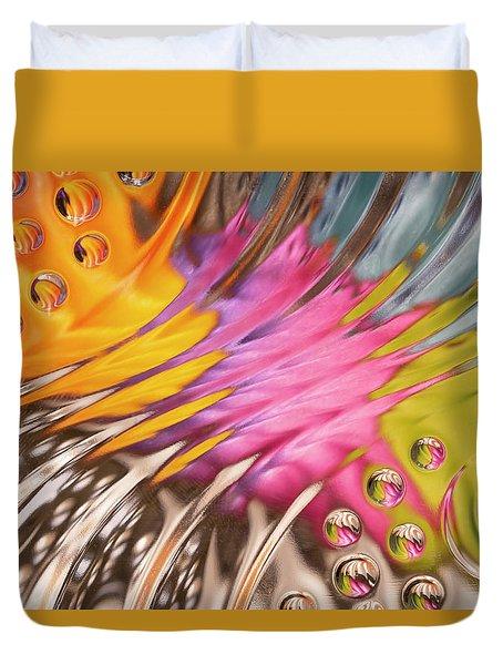Colors In Vitro 2 Duvet Cover