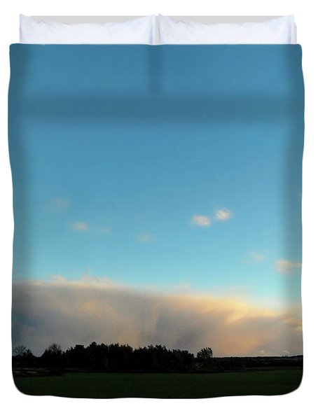 Colossal Country Clouds Duvet Cover