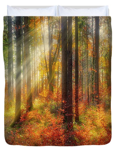 Duvet Cover featuring the photograph Colours Of Nature 02 by Edmund Nagele