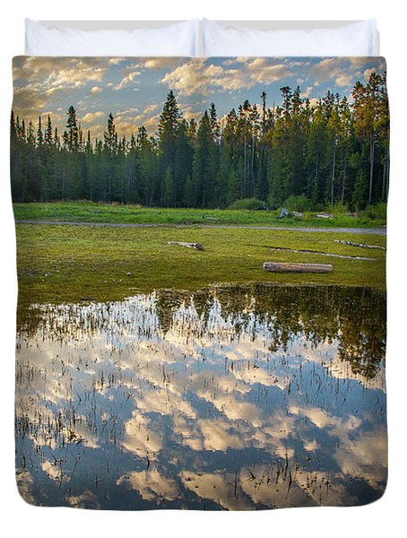Colter Bay Reflections Duvet Cover