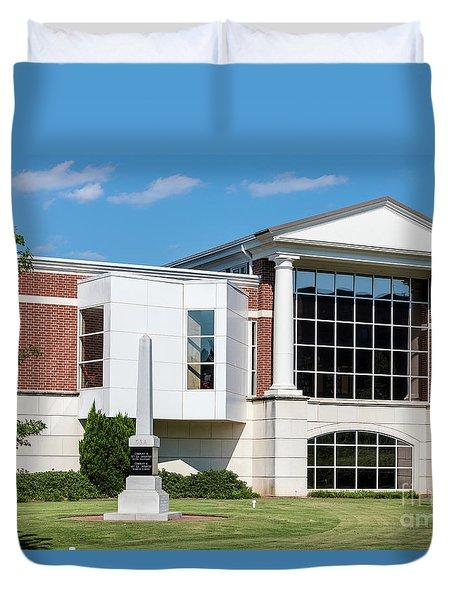 Columbia County Main Library - Evans Ga Duvet Cover