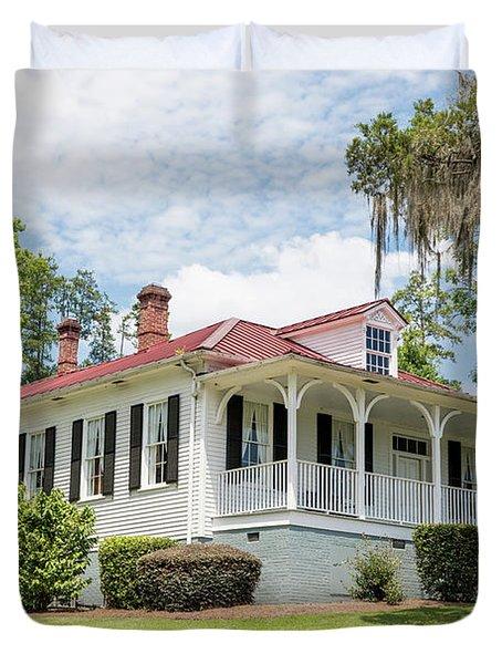 Columbia County Visitors Center - Savannah Rapids Duvet Cover