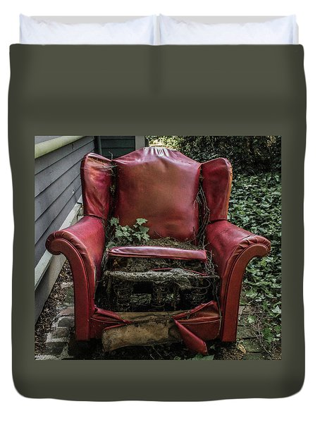 Comfy Chair Duvet Cover