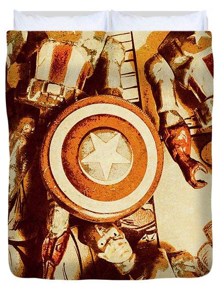 Comic Collector Inc. Duvet Cover