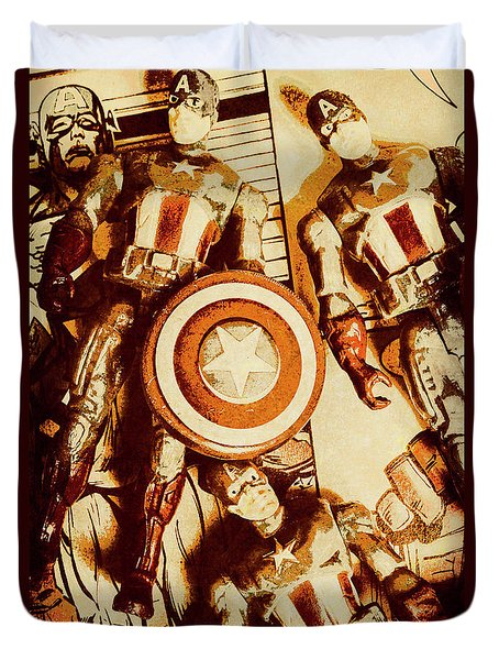 Comic Collector Inc. Duvet Cover