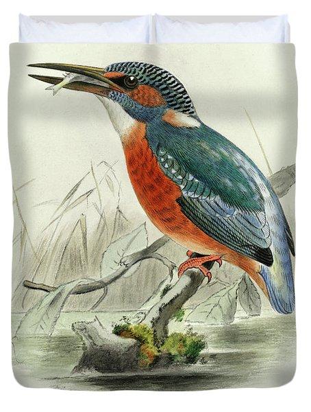 Common Kingfisher Duvet Cover