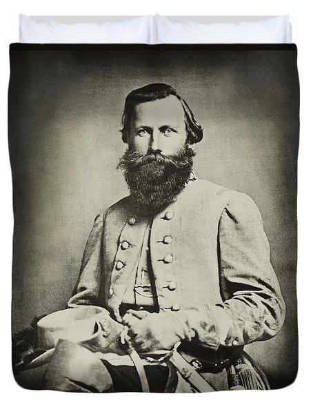 Confederate Jeb Stuart Duvet Cover