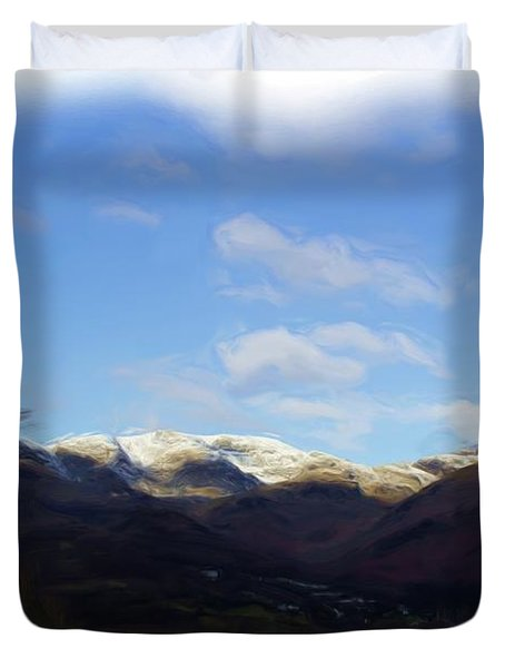 Coniston Painting Duvet Cover