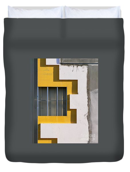 Construction Abstract Duvet Cover