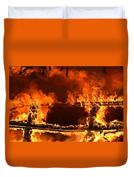 Consumed Duvet Cover