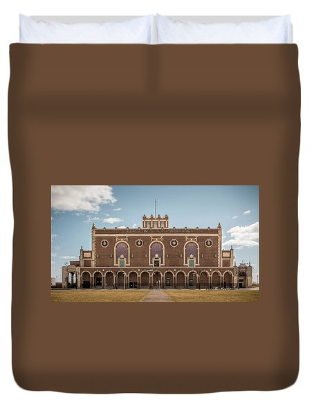 Convention Hall Duvet Cover