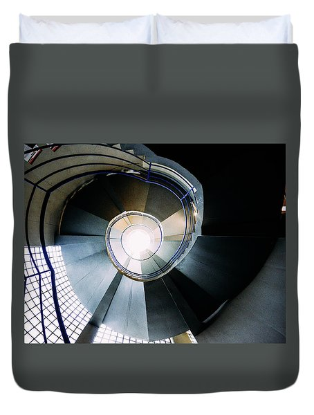 Convoluted Staircase  Duvet Cover
