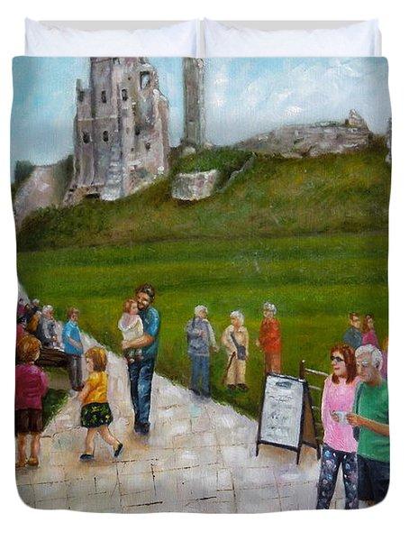Corfe Castle Duvet Cover