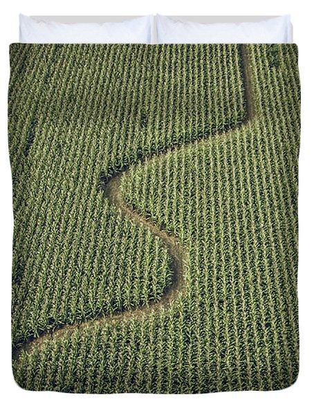 Corn Field Duvet Cover
