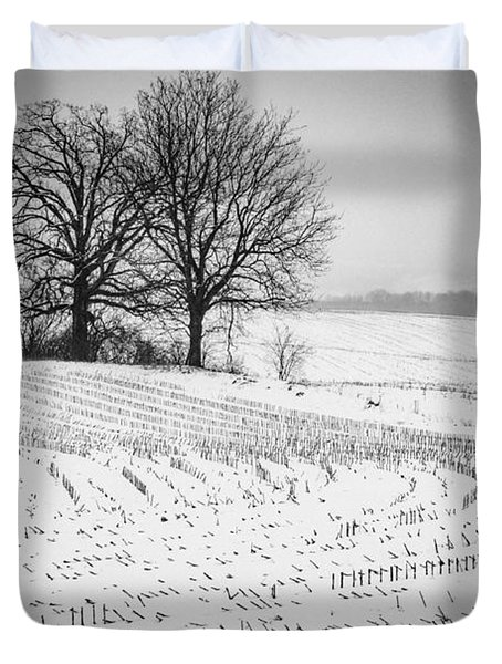 Corn Snow Duvet Cover