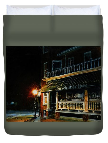 Corner Light Duvet Cover