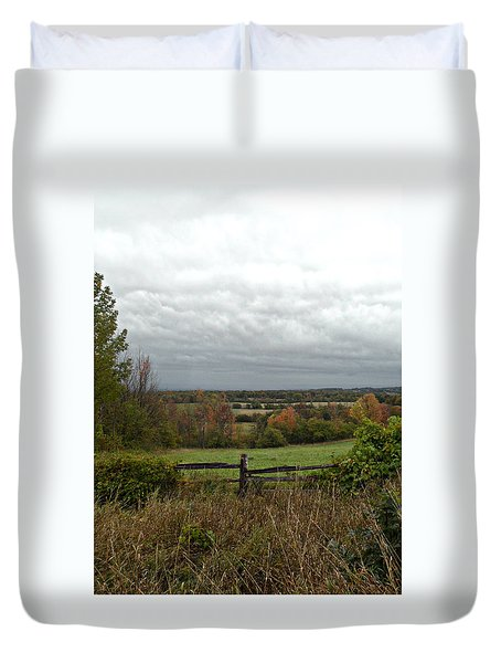 Corners Of Collingwood Duvet Cover