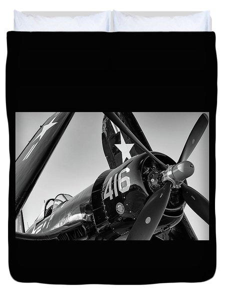 Corsair Under The Setting Sun Duvet Cover