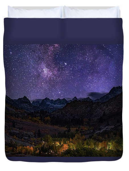 Cosmic Nature Duvet Cover