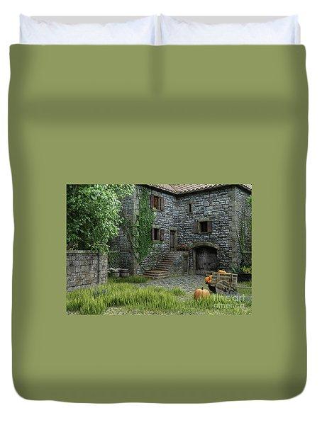 Country Farmhouse Duvet Cover