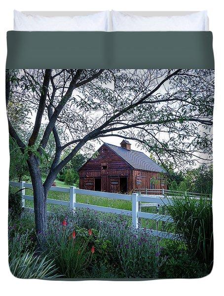 Country Memories Duvet Cover