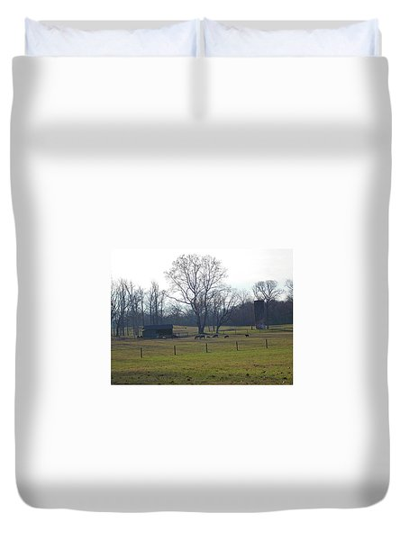 Country Pasture Duvet Cover