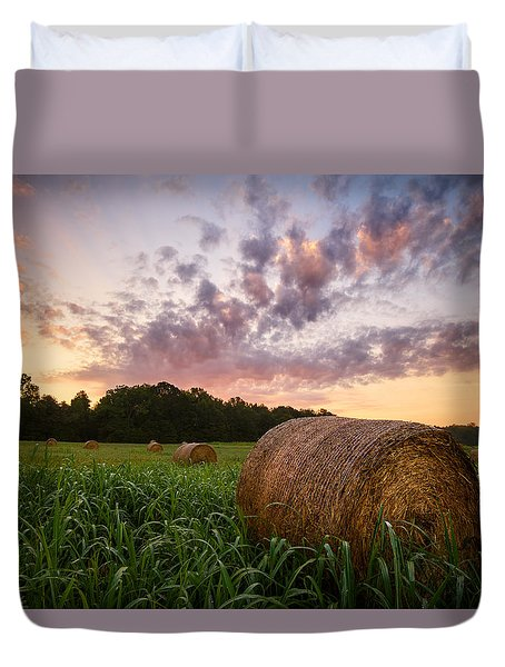 Country Sunrise Duvet Cover