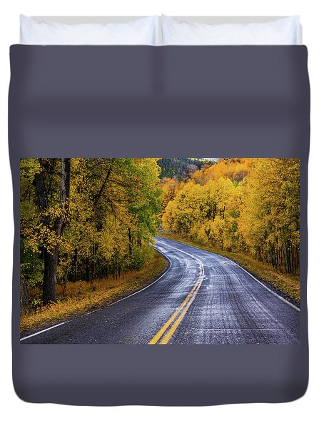 Country Travels Duvet Cover