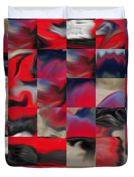 Coupe Rouge Duvet Cover